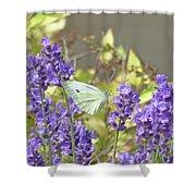 More Lavender Love Shower Curtain