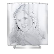 More Maggie Shower Curtain