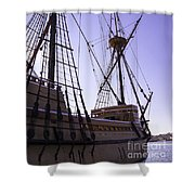 More Mayflower In Mystic Shower Curtain