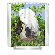More Mommy Shower Curtain