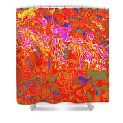 More Night Bloomers 8 Shower Curtain
