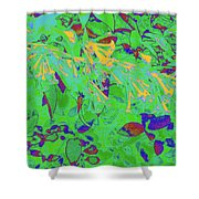More Night Bloomers 9 Shower Curtain