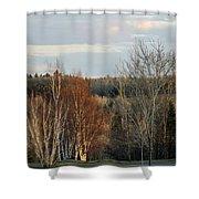 More Sunset Light Shower Curtain