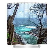 More Than Meets The Eye Shower Curtain