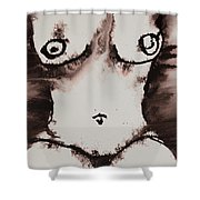 More Than Series No. 1381 Shower Curtain