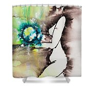 More Than Series No. 2046 Shower Curtain