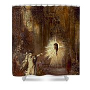 Moreau: Apparition, 1876 Shower Curtain