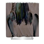 Morgan Alone Shower Curtain