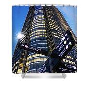 Mori Tower Shower Curtain