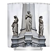 Moriarty Tomb Shower Curtain