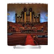 Mormon Meeting Hall Shower Curtain