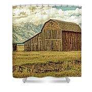 Mormon Row Barn No 3 Shower Curtain
