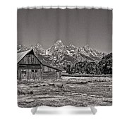 Mormon Row Too Shower Curtain