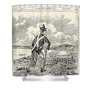 Mormons: Polygamy, 1883 Shower Curtain