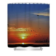 Morning Active Shower Curtain