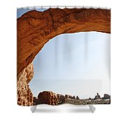 Morning Arch Shower Curtain