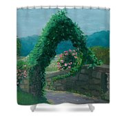 Morning At Harkness Park Shower Curtain