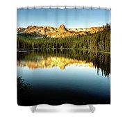 Morning At Lake Mamie Shower Curtain