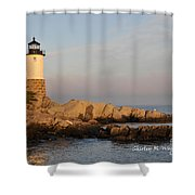 Morning At The Light Shower Curtain