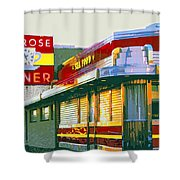 Morning At The Melrose Shower Curtain