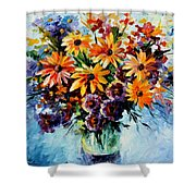 Morning Bouquet Shower Curtain