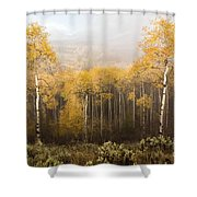 Morning Burn Shower Curtain