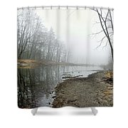 Morning Calm Shower Curtain