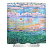 Morning Color Dance Shower Curtain