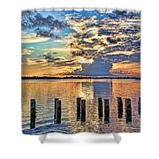 Morning Colors By H H Photography Of Florida Shower Curtain