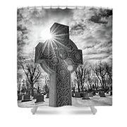 Morning Cross Shower Curtain