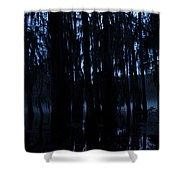 Morning Cypress Mist Shower Curtain