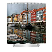 Morning Danish Shower Curtain
