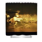Morning Drama Shower Curtain