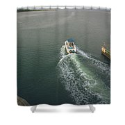 Morning Excursion Shower Curtain