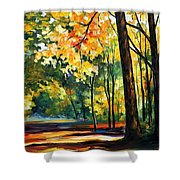 Morning Forest Shower Curtain