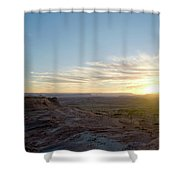 Morning Formations Shower Curtain