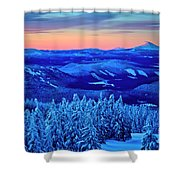 Morning From Timberline Lodge Shower Curtain