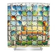 Morning Gateway Shower Curtain