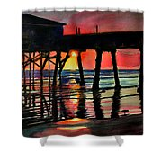 Morning Glow 4-27-15 Shower Curtain