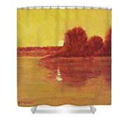 Morning Glow Shower Curtain