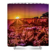 Morning Has Broken 2-painterly Shower Curtain