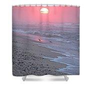 Morning Haze Shower Curtain