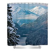 Morning In Bavaria Shower Curtain