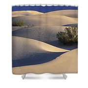 Morning In Death Valley Dunes Shower Curtain