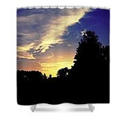 Morning In Helena Shower Curtain