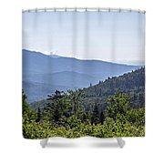 Morning In New Hampshire Shower Curtain