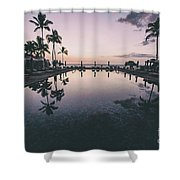 Morning In Paradise Shower Curtain