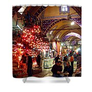 Morning In The Grand Bazaar Shower Curtain