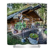 Morning In The Woods Shower Curtain