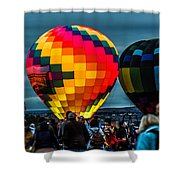 Morning Inflation Shower Curtain